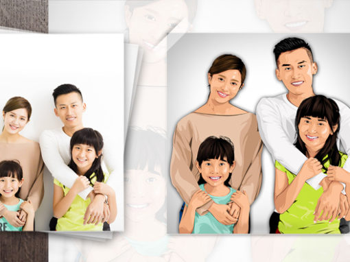 Family Picture Graphic Art
