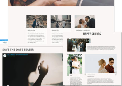 Dream Real Cinema Photography Website